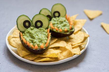 Smocze paszczki z guacamole