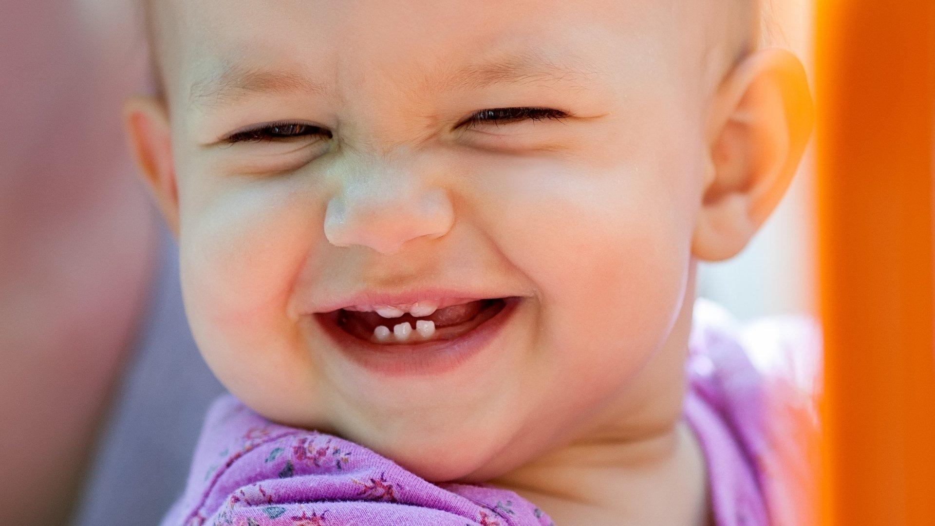 Objawy ząbkowania u niemowląt