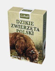 karty do gry dzikie zwierzęta polski