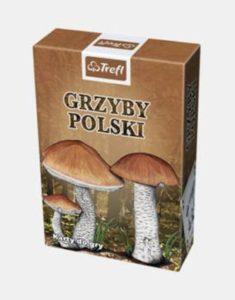 grzyby polski karty do gry