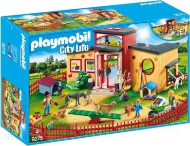 playmobil hotel dla zwierząt zestaw