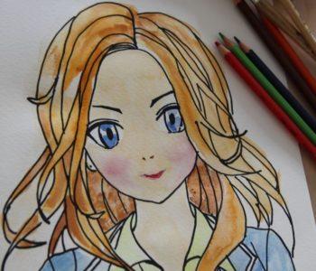 Akwarelowe ABC: Manga