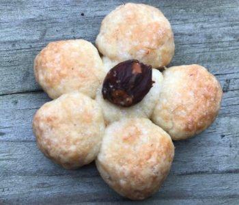 Przepis na kruche ciasteczka – kwiatki