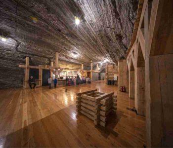 Niezwykła noc 250 m pod ziemią w Kopalni Soli Bochnia