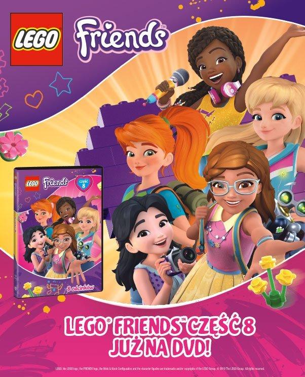 Nowe odcinki uwielbianej przez dziewczynki serii LEGO® Friends na DVD już od 13 lutego!