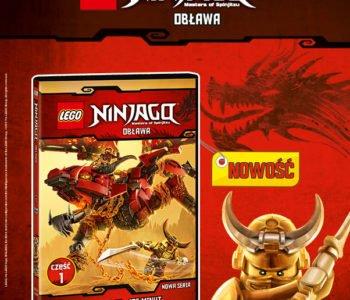 Nowe przygody LEGO® NINJAGO®  na DVD już od 13 lutego!