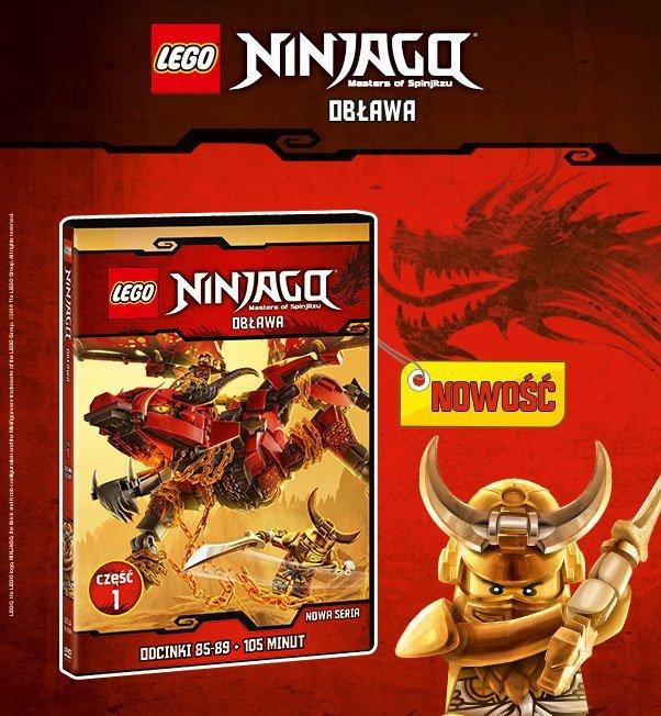 Nowe Przygody Lego Ninjago Na Dvd Już Od 13 Lutego Polecamy