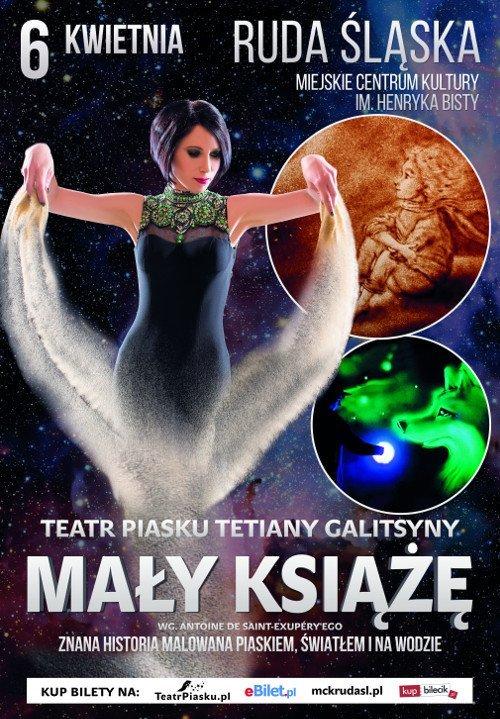 Mały Książę - Teatr Piasku Tetiany Galitsyny. Ruda Śląska