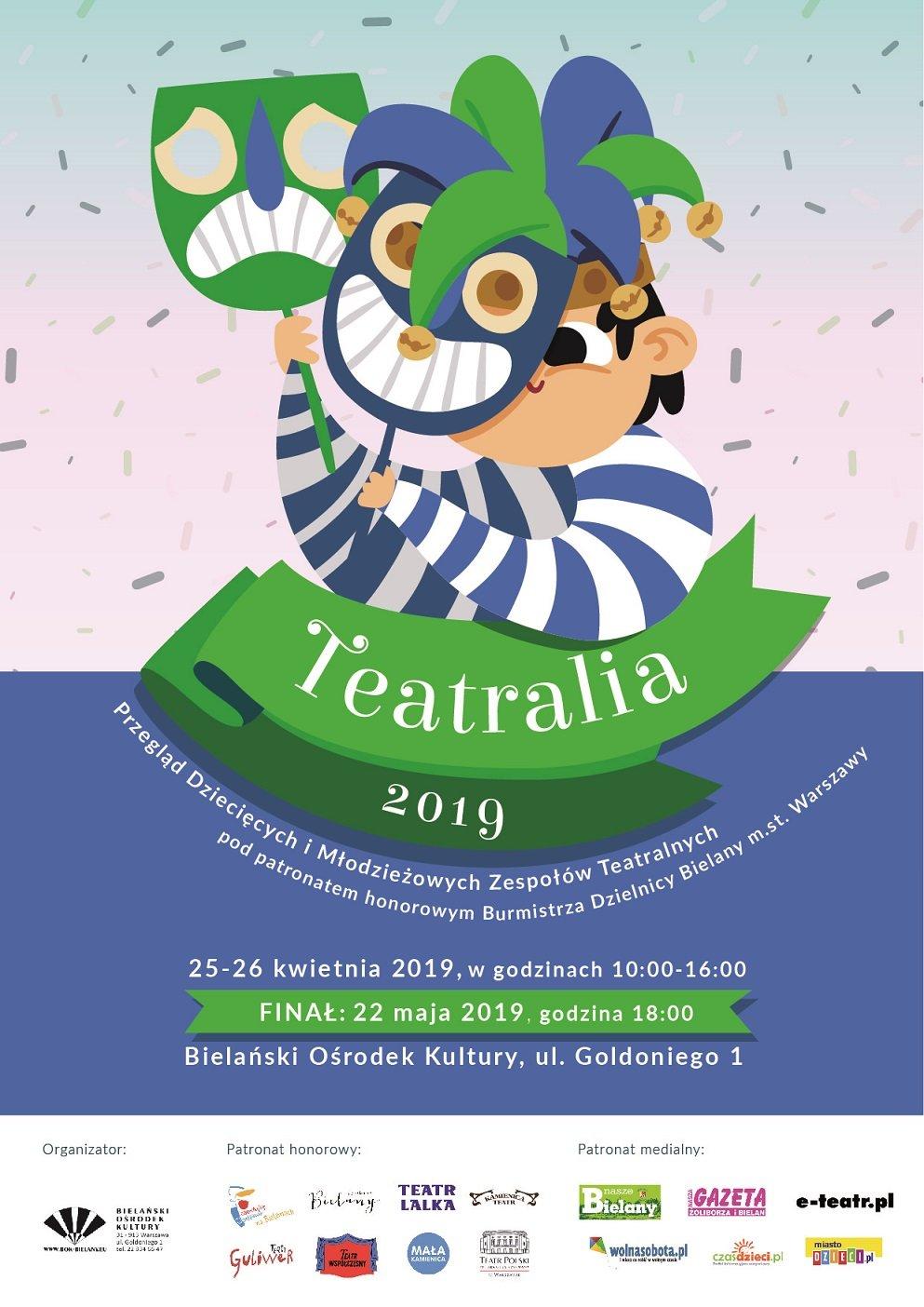 Przegląd Dziecięcych i Młodzieżowych Zespołów Teatralnych Teatralia 2019