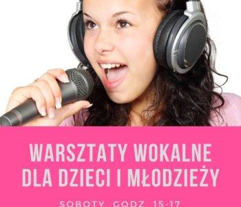 Warsztaty Wokalne dla dzieci i młodzieży w Klubie Edukacji Muzycznej