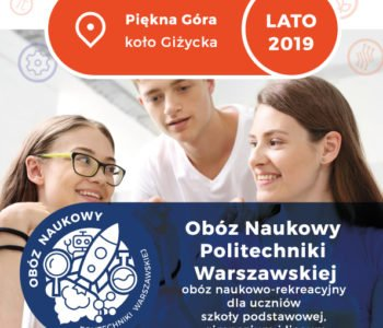 Obóz Naukowy Politechniki Warszawskiej – zapisy