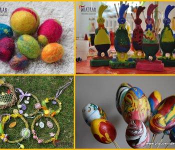 Wiosenno – Wielkanocne dekoracje. Warsztaty dla przedszkoli i szkół