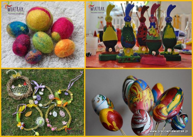 Wiosenno - Wielkanocne dekoracje. Warsztaty dla przedszkoli i szkół