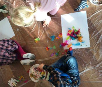 Strefa zabawy: Kwitnące drzewa