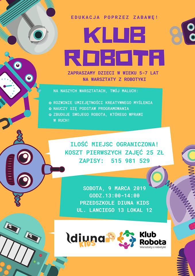 Robotyka na Ursynowie - Przedszkole Diuna Kids