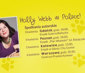 Przyjazd Holly Webb do Polski. Spotkania i konkurs plastyczny Zielonej Sowy!