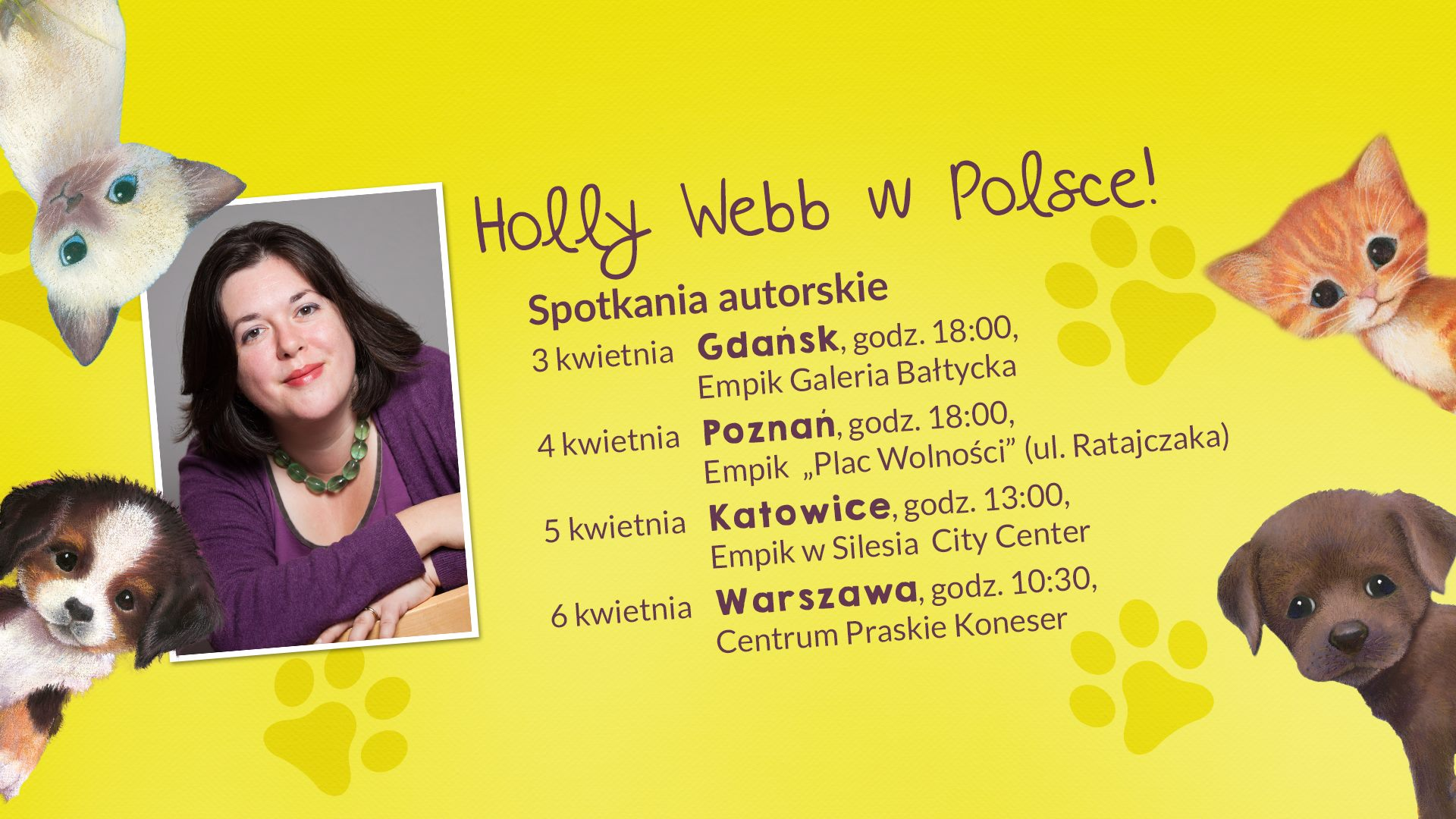 Spotkaj się z Holly Webb