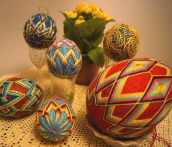 Temari – Pisanki Wielkanocne