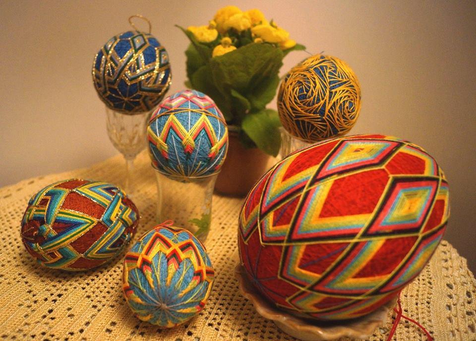 Temari - Pisanki Wielkanocne