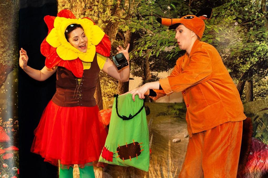 Teatr Tak: Milutka w malachitowym borze. Poranek familijny