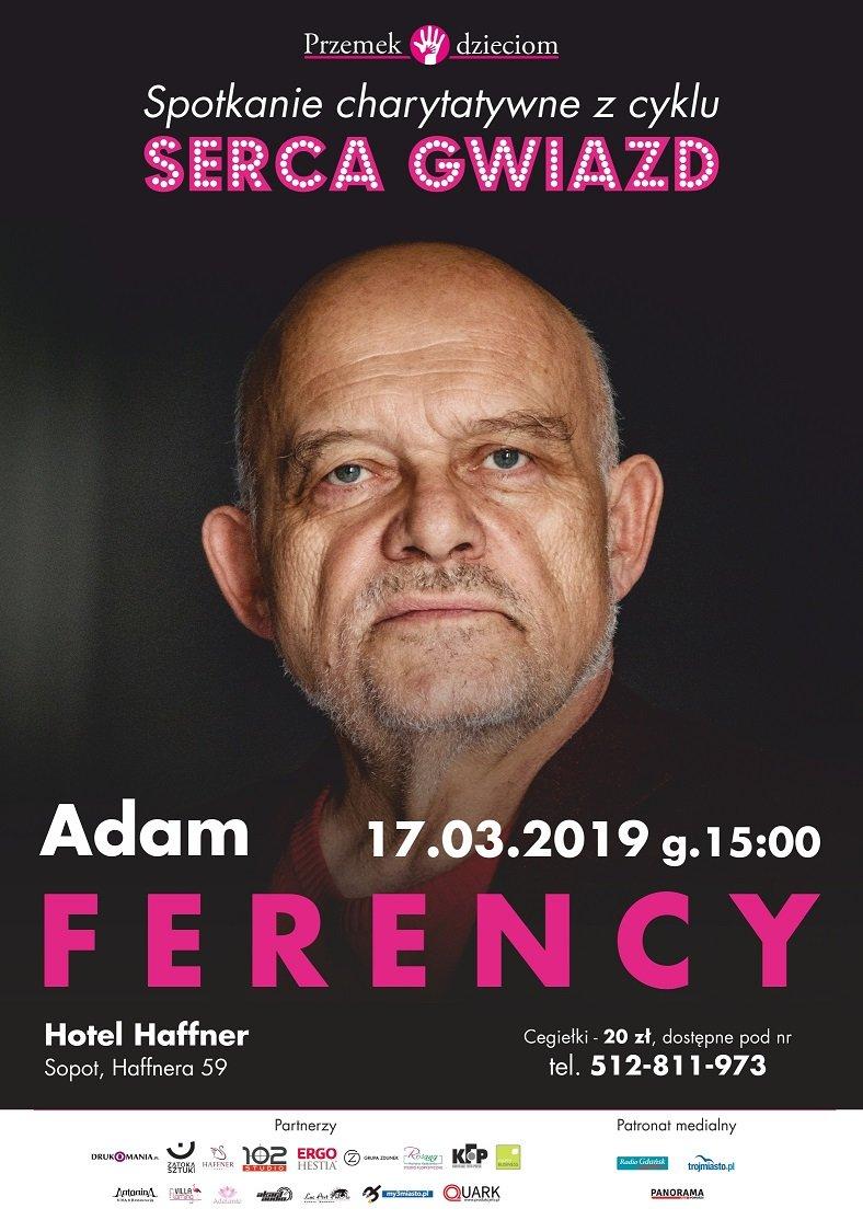 Adam Ferency w Sopocie - Serca Gwiazd