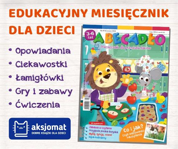 Abecadło. Miesięcznik edukacyjny dla dzieci w wieku przedszkolnym
