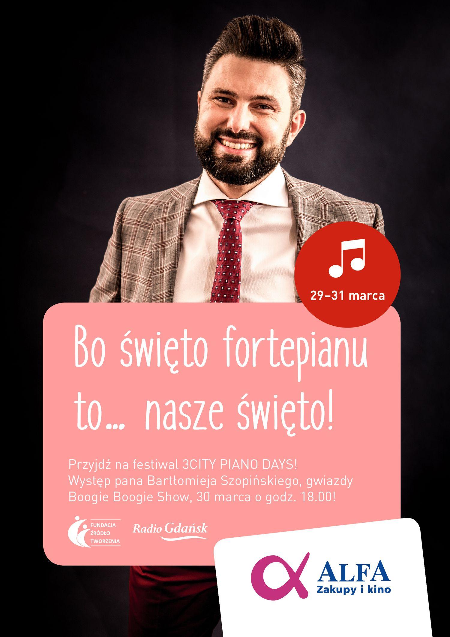 Międzynarodowe Święto Fortepianu w Alfa Centrum