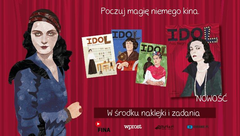 Nowy zeszyt w serii Idol Justyny Styszyńskiej: Pola Negri
