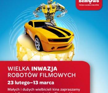 Wielka inwazja robotów filmowych w Galerii Bemowo