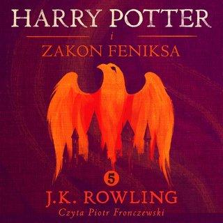 Harry Potter okładka audiobooka