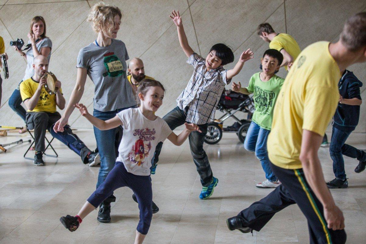 Dzieci mają moc! - warsztaty taneczne dla dzieci