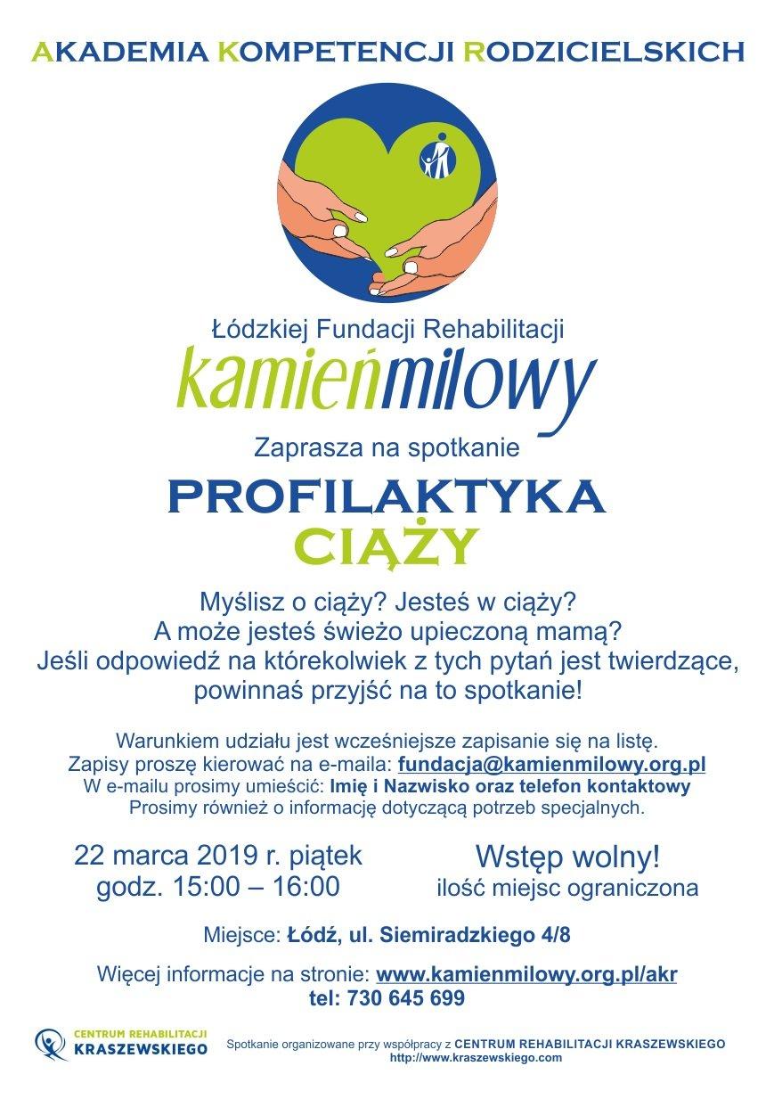 Akademia Kompetencji Rodzicielskich: Profilaktyka ciąży. Spotkanie