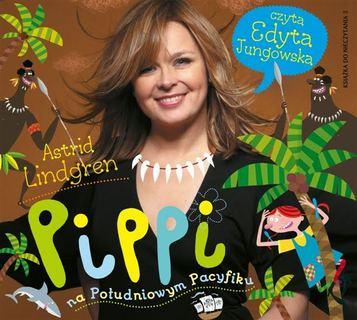 Pippi na południowym Pacyfiku audiobookk