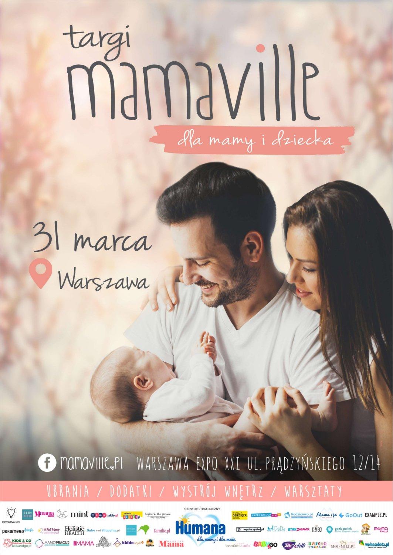 Plakat Targi Mamaville Wraszawa EXPO XXI (1)