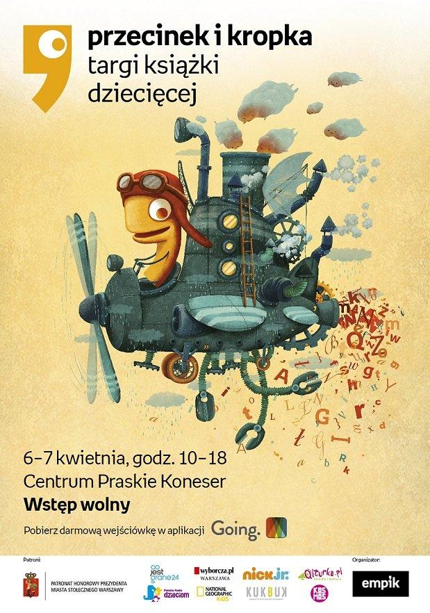 3. edycja Targów Książki Dziecięcej Przecinek i Kropka 2019