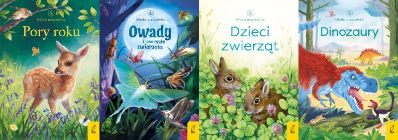 Młodzi przyrodnicy i Maluch poznaje świat - nowe tytuły w Wildze!