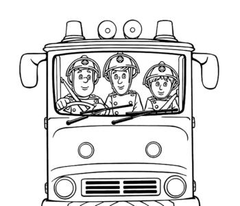 wóz strażacki Strażaka Sama