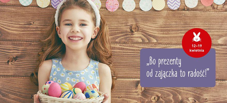 Wielkanocny labirynt w Alfa Centrum – bo prezenty od zajączka to radość