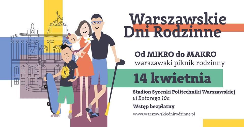 Warszawski Piknik Rodzinny - od MIKRO do MAKRO już w niedzielę