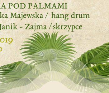 Hang drum - koncert w Palmiarni