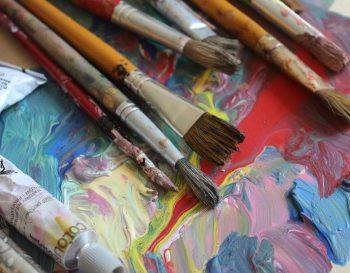 Malowanie od świtu do nocy. Akcja malarska