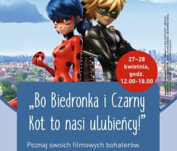 Bo Biedronka i Czarny Kot to nasi ulubieńcy! – zapraszamy na spotkanie z serialowymi bohaterami