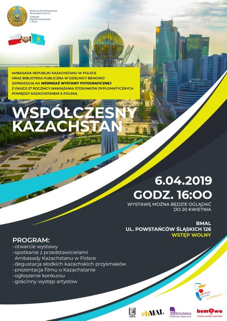 Wystawa Współczesny Kazachstan w Galerii Bemowo