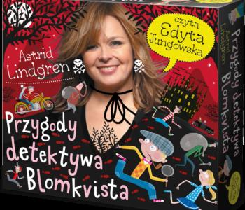 Przygody detektywa Blomkvista – Edyta Jungowska czyta Astrid Lindgren. Premiera