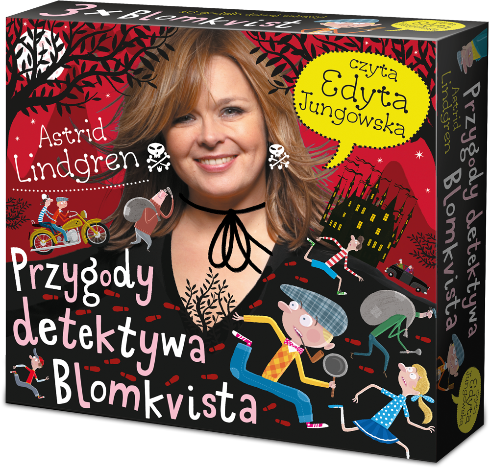 Przygody detektywa Blomkvista - Edyta Jungowska czyta Astrid Lindgren
