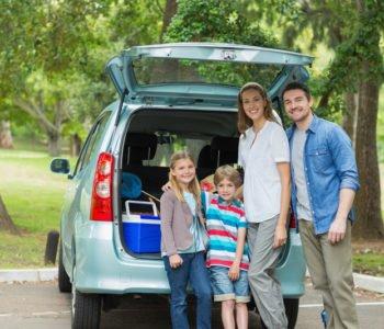 rodzinny wyjazd pod Warszawę