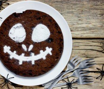 Przepis na czekoladowe ciasto na Halloween