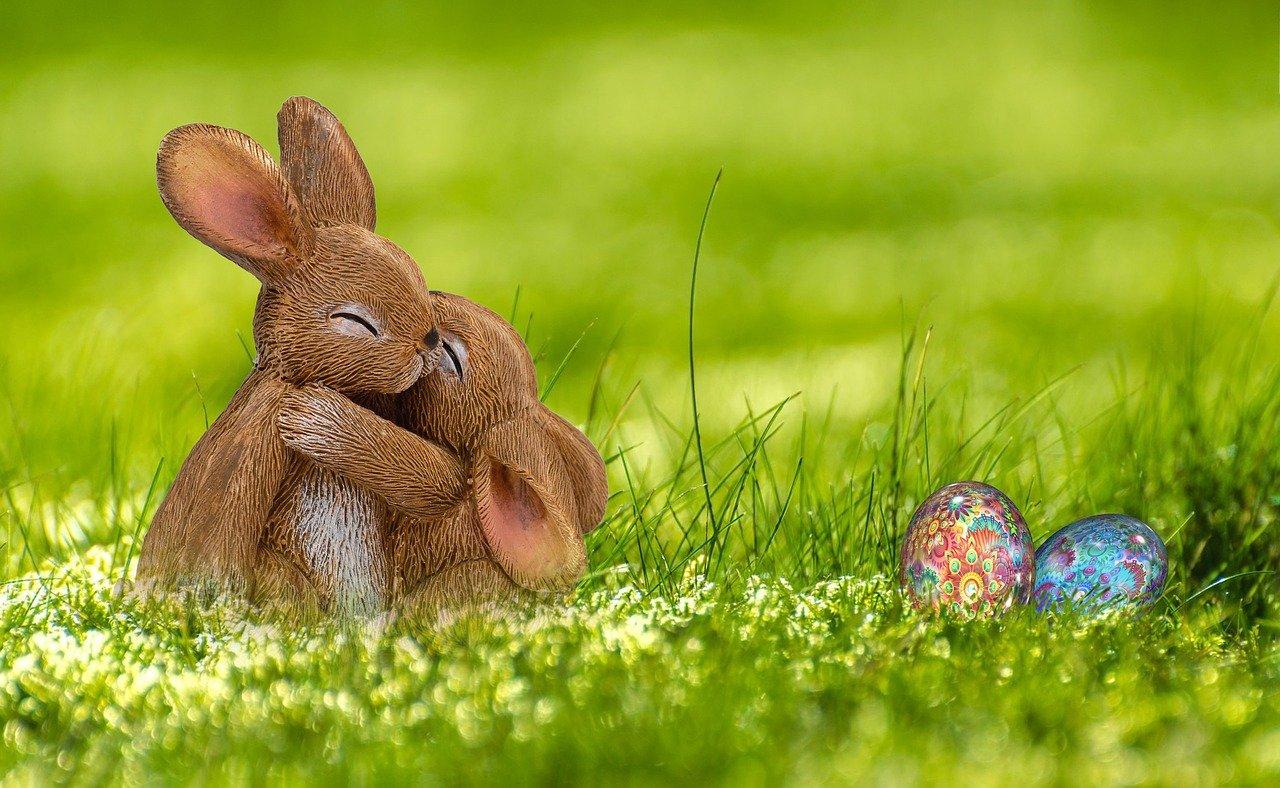 Wielkanocny zajączek ze skarpetki