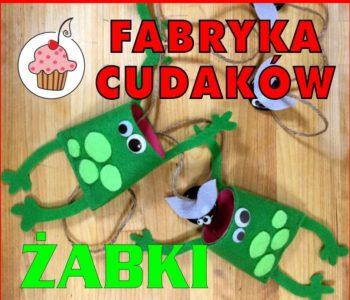 Fabryka cudaków - Żabki. Bezpłatne zajęcia plastyczne