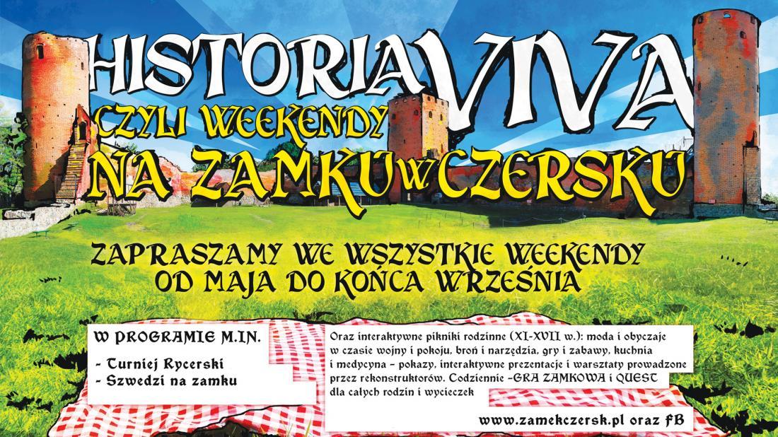 Historia Viva na zamku w Czersku 2019